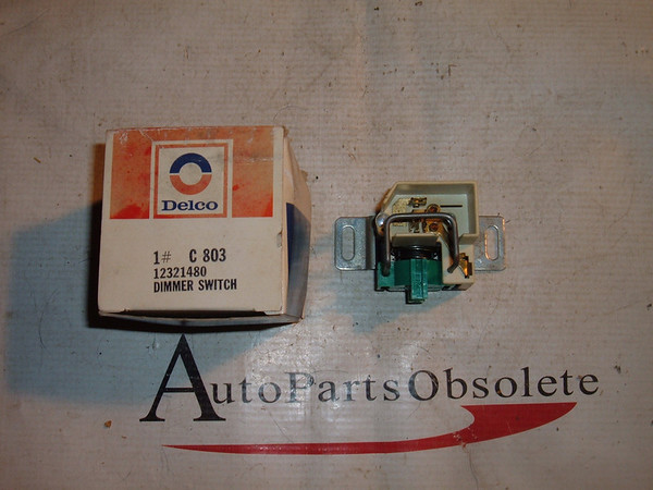 View Product1979 80 81 82 83 84 dodge plymouth chrysler dimmer switch 12321480 (z 12321480)