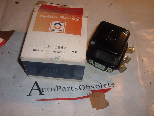 john deere tractor farm industrial voltage regualtor delco 1118790 (z 1118790)