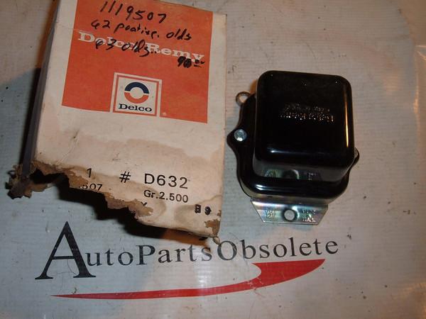 1962 63 ponitac oldsmobile delco regulator # 1119507 (z 1119507)