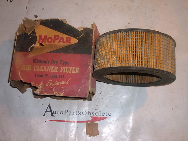 1957 58 dodge desoto chrysler air cleaner 1739549 (z 1739549)