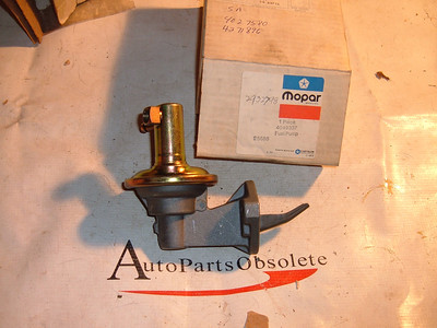 1977 78 chrysler dodge fuel pump NOS mopar # 4049337 (z 4049337)