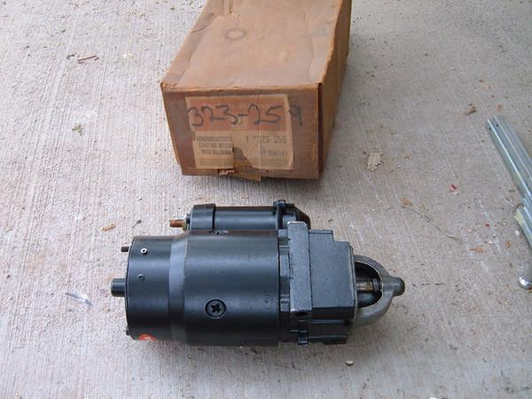 1976 77 78 79 80 malibu firebird cheverolet buick starter delco # 323-259 (z 323-259)