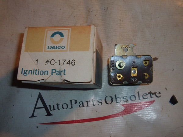 1977 79 81 83 85 87 dodge plymouth chrysler starter relay delco C-1746 (z c-1746)