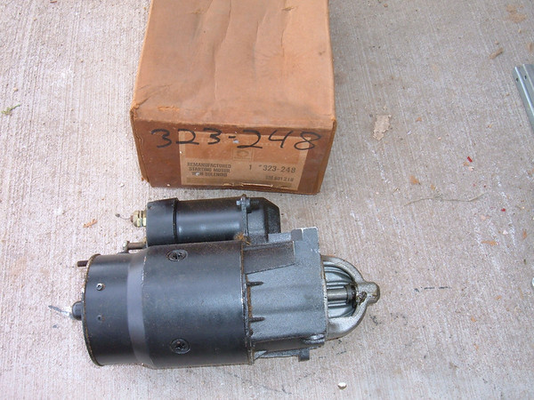 View Product1969 70 71 72 73 74 buick corvette cheverolet buick starter delco # 323-248 (z 323-248)