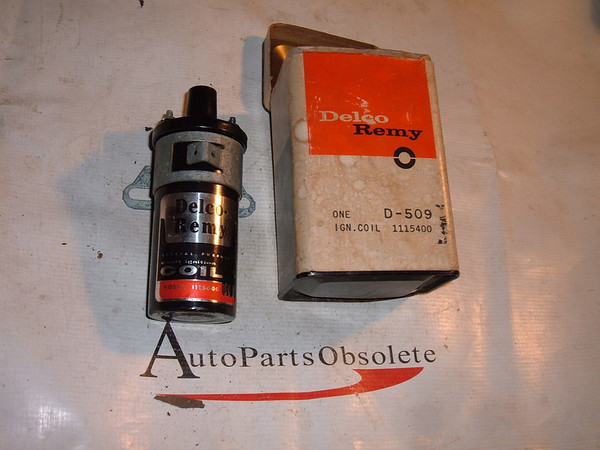 1947 48 49 50 51 52 53 54 chevrolet pontiac oldsmobile ignition coil 1115400 (z 1115400)