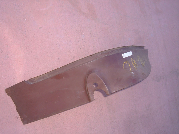 1949 50 51 ford sheet metal taillight extension panel 0A 7027934 (z 0a 7027934)