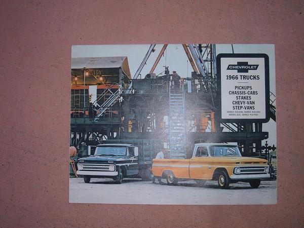 1966 chevrolet truck dealer sales brochure (z 66 truckfoldout bro)