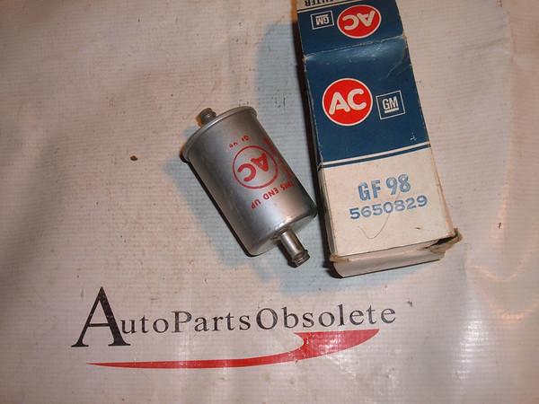 1963 64 ponitac 71 camaro ac delco fuel filter 5650829 (z 5650829)