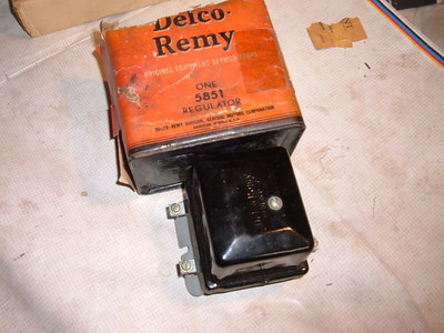 1938 -58 john deere /massey fergeson / delco voltage regulator # 5851 (za 5851)