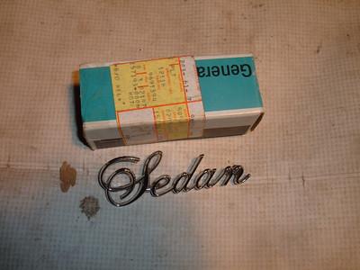 1974 75 76 cadillac rear quarter emblem # 9691394 (z 9691394)