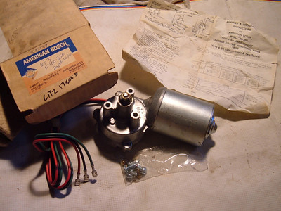 1961 1962 1963 Ford Truck windshield wiper motor nos (z c1tz17508b)