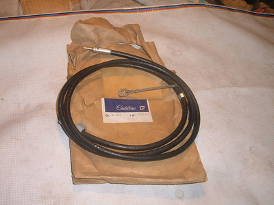 1967 68 69 cadillac antenna cable # 1494273 (z 1494273)