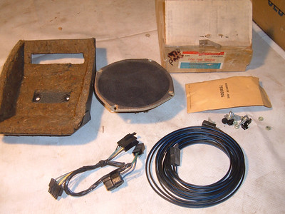 View Product1970 chevrolet impla rear radio speaker kit # 993895 (z 993895)