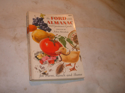1958 ford almanac booklet (za 58 ford farmers)