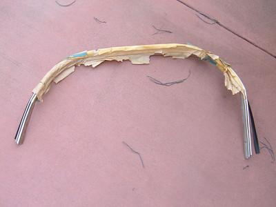 1976 cadillac el dorado wheel opening moldings # 9633512 (z 9633512)