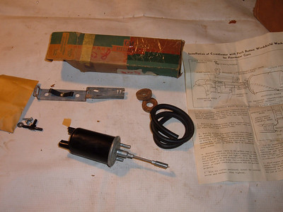 1954 chevrolet windshield washer co-ordinator # 986984 (z 986984)