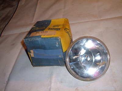 View Product1933 35 37 39 41 46 48 51 53 55 chevrolet cadillac guide spot light lamp # 4535 (z 4535)