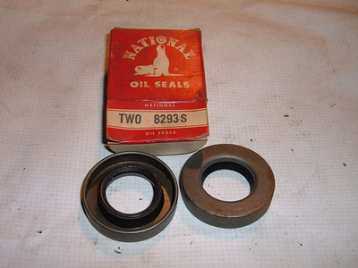 1962 1963 chevrolet nova rear wheel seals 8293s (z 8293s)