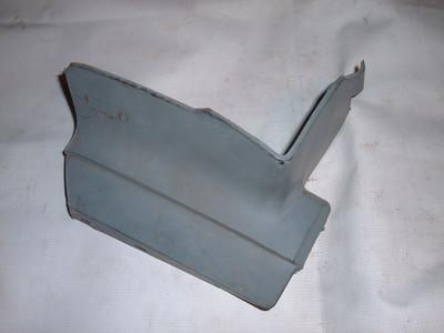 1976,1977 chevelle malibu bumper filler panel # 356499 (z 356499)