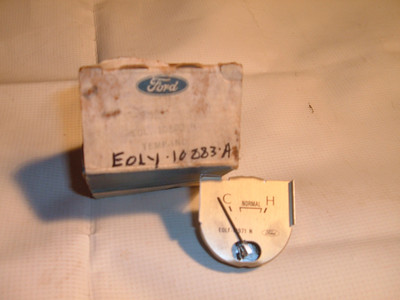 1980 81 lincoln temperature gauge dash unit # E0LY 10883 A (z e0ly10883a)