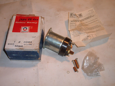 1982 84 86 88 chevrolet pontiac buick starter solenoid # 1114531 (z 1114531)