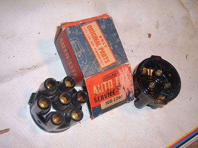 1937 39 41 43 46 48 nash studebaker hudson distributor cap nos #IGB 1240 (z igb1240)