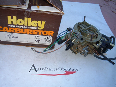 1980 dodge plymouth chrysler 2 barrel carburetor holley 1-620