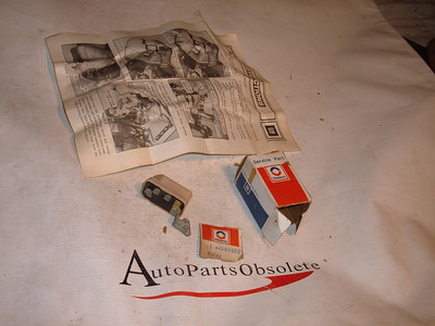 1974,1975 chevrolet oldsmobile pontiac windshield wiper relay # 4960922