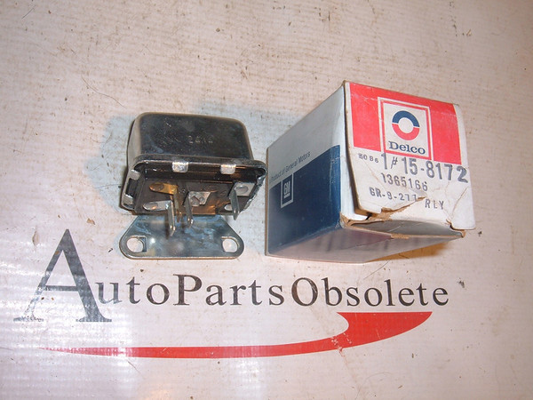 View Product63 65 67 69 71 chevrolet buick air conditioning relay # 1365166 (z 1365166)