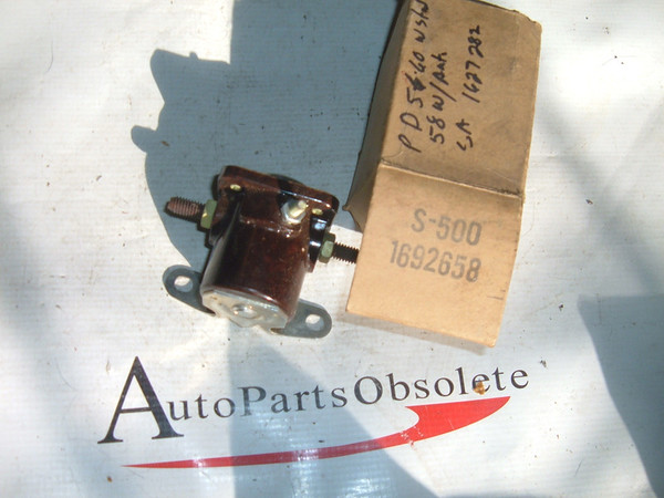 56 57 58 59 60 Dodge Plymouth std trans new starter solenoid (za 1692658)
