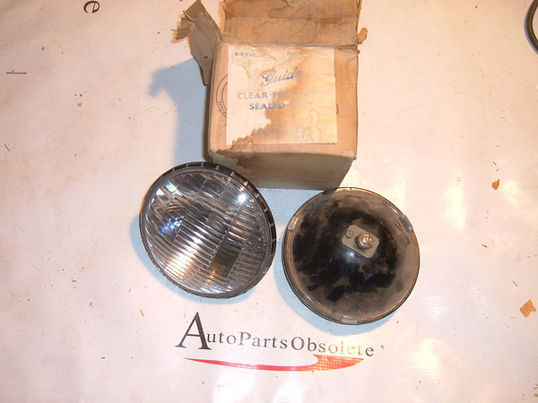 cadillac chevrolet pontiac steel back fog lights nos guide 929913