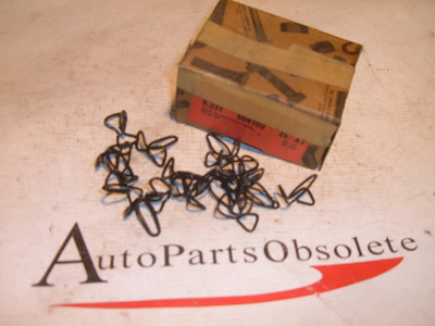 1940 pontiac rocker panel clips nos gm # 504102 17ct (z 504102)