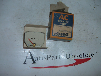 1940 pontiac temperature gauge dash unit nos gm # 1510918 (z 1510918)