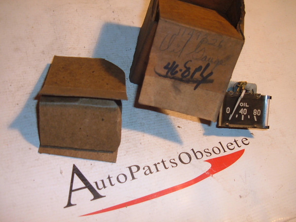 1946 1947 1948 plymouth oil pressure gauge nos # 1149326 (z 1149326)