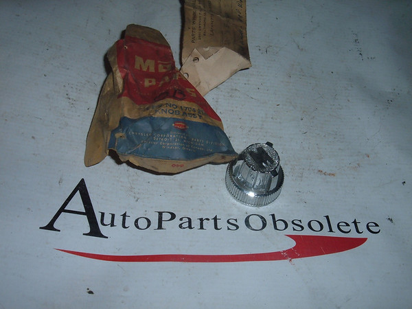 View Product1957 1958 plymouth windshield wiper switch knob nos moapr # 1704214 (za 1704214)