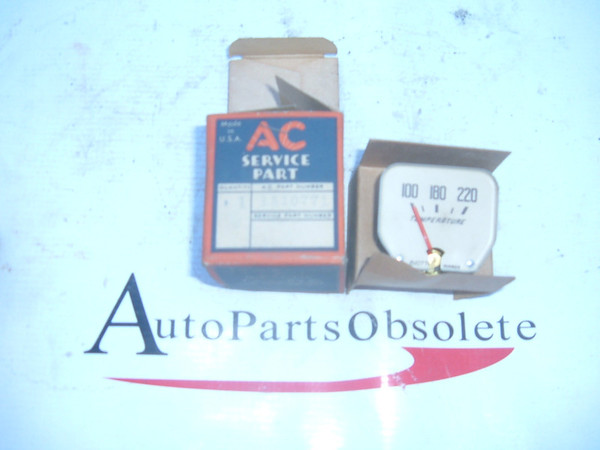 1939 pontiac temperature gauge dash unit nos gm # 1510771 (z 1510771)