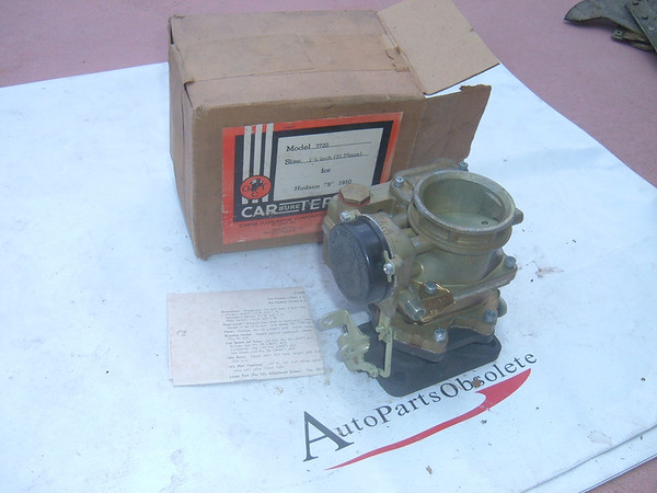 View Product1950 hudson carburetor carter new # 773S