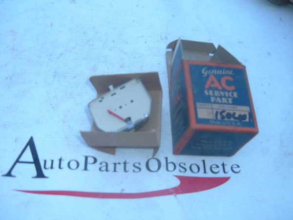 1940 pontiac oil pressure gauge dash unit nos gm # 1506001 (z 1506001)