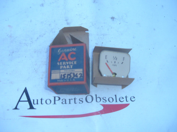 1939 pontiac gas / fuel gauge dash unit nos gm # 1515362 (z 1515362)