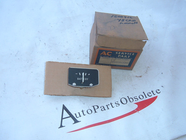 View Product1948 cadillac ammeter gauge dash unit nos gm # 1500912 (z 1500912)