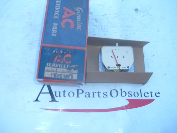 View Product1938 pontiac gas / fuel gauge dash unit NOS gm # 1515343