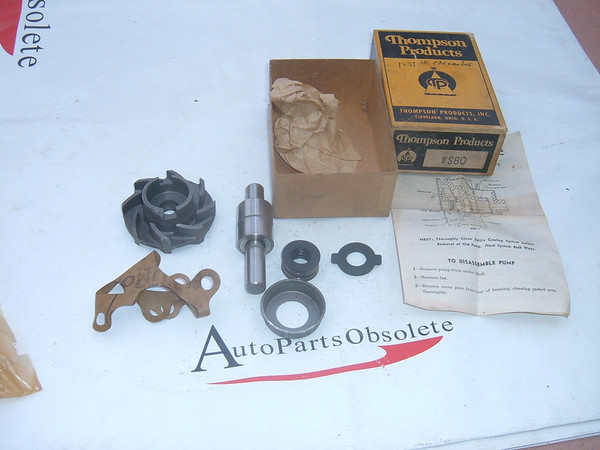 1939,1940 chevrolet water pump rebuild kit new # WS80 (z ws80)