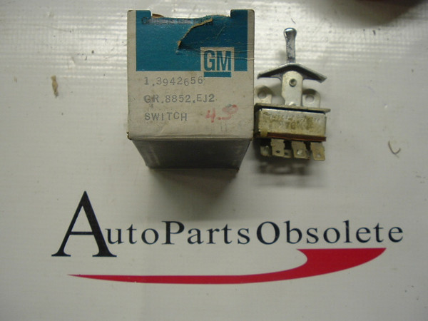 1969 chevelle malibu air conditioning fan blower switch nos gm # 3942656 (z 3942656)