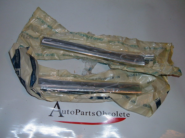 1965 chevelle malibu grille moldings extension new gm # 3865247/3865248