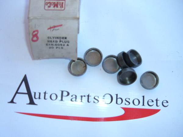 54,55,56,57,58,59,60,61,62 ford ,thunderbird cylinder head plugs nos ford # EAN 6052 A (z ean6052a)