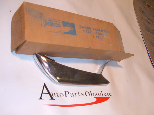 64,65 66 ford mustang rear bumper guard nos ford # C5ZZ 17984 C (z c5zz17984c)
