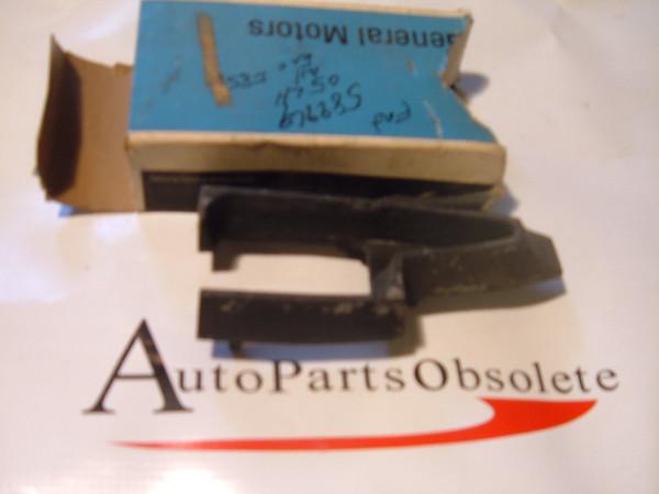 65 oldsmobile bumper filler rubber nos gm # 589969 (z 589969)