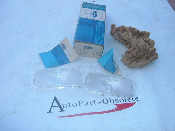 View Product1963,1964 ford galaxie park turn signal lens nos ford # C3AZ 13208 A (z c3az13208a)