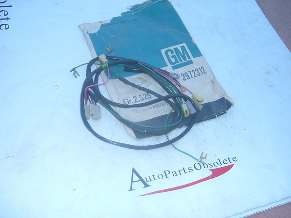 View Product1958,1959 chevrolet truck wiring harness nos gm # 2972312 (z 2972312)