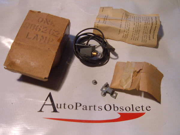 49, 50 chevrolet pass glove box light accessory kit new gm # 986262 (z 986262)